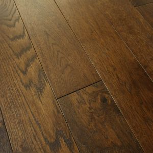 Bois De Vie Engineered Flooring, Oslo Oak, 18/5mm x 125mm x RL, Dark Stained, Brushed & Lacquered