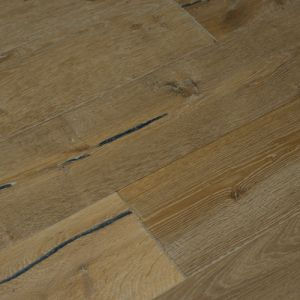 Bois De Vie Engineered Flooring, Como Oak, 20/5mm x 190mm x 1900mm - Brushed & Lacquered
