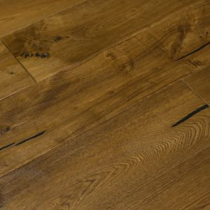 Bois De Vie Engineered Flooring, Geneva Oak, 20/5mm x 190mm x 1900mm, Brushed & Lacquered