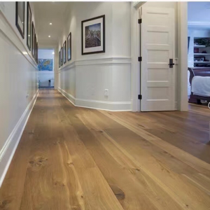 Bois De Vie Engineered Flooring, Wide Alaska Oak, 20/6mm x 240mm x 2200mm, Brushed & Lacquered