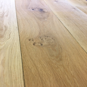 Bois De Vie Engineered Flooring, Wide Aleutian Oak, 20/6mm x 240mm x 2200mm, Brushed & Lacquered
