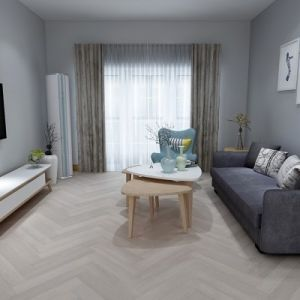 Balento Islands SPC Waterproof Vinyl Flooring, Anna Maria Island Herringbone, 6mm x 110mm x 620mm