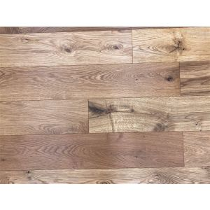 Bois De Vie Engineered Flooring, Wide Helsinki Oak, 14/3mm x 180mm x RL, Brushed & Lacquered