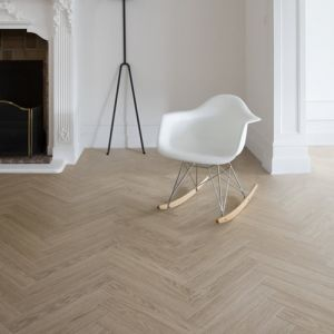 Berry Alloc, Laminate Flooring, Chateau Herringbone - Charme Light Natural - 8mm x 85mm x 504mm