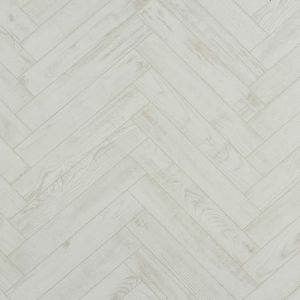 BerryAlloc Laminate Flooring Chateau Herringbone Chestnut White 8mm x 84mm