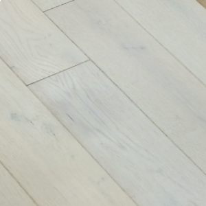 Bois De Vie Engineered Flooring, Constance Oak, 18/5mm x 125mm x RL, Brushed & White Lacquered