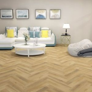 Balento Islands SPC Waterproof Vinyl Flooring, Harbour Island Herringbone, 6mm x 110mm x 620mm
