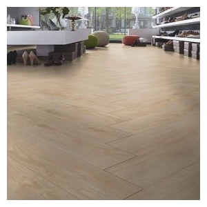 Kronoswiss Herringbone Laminate Flooring, Kyburg Oak - 8mm x 133mm x 665mm