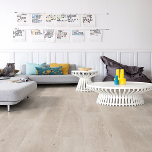 Quickstep Laminate Flooring - Largo - Long Island Oak Light, LPU1660 - 9.5mm x 205mm x 2050mm