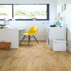 Quickstep Laminate Flooring - Creo - Louisiana Oak Natural, CR3176 - 7mm x 190mm x 1200mm