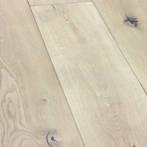 Bois De Vie Engineered Flooring, Wide Lucerne Oak, 20/6mm x 240mm x 2200mm, Brushed & White Oiled