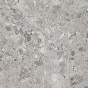 Berryalloc Pure Click 55, LVT Waterproof Vinyl Flooring, Terrazzo Light Grey, 5mm x 612mm x 612mm