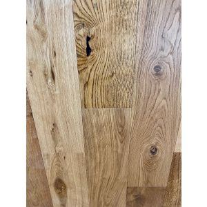 Bois De Vie Engineered Flooring, Wide Stockholm Oak, 14/3mm x 180mm x RL - Smooth Satin Lacquered