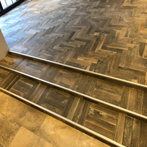Bois De Vie Engineered Flooring, St. Moritz Herringbone, 18/5mm x 90mm x 400mm, Brushed & Oiled