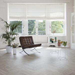 BerryAlloc Laminate Flooring Chateau Herringbone Texas Grey 8mm x 84mm