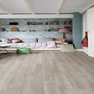 Quickstep Laminate Flooring - Eligna - Venice Oak Grey, EL3906 - 8mm x 156mm x 1380mm