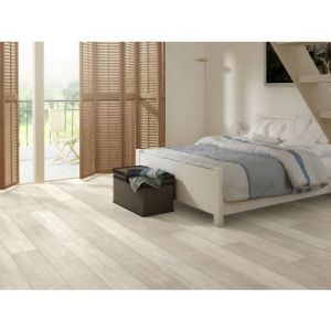 Quickstep Laminate Flooring - Largo - White Vintage Oak, LPU3985 - 9.5mm x 205mm x 2050mm